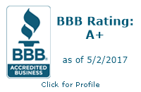 National Warehouse Furniture has an A plus rating with the Better Business Bureau